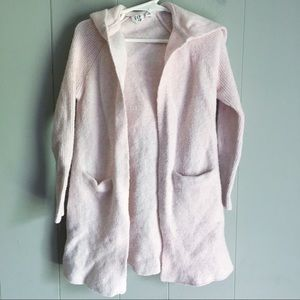 Gap • Pink Hooded Duster Sweater XS (4-5)